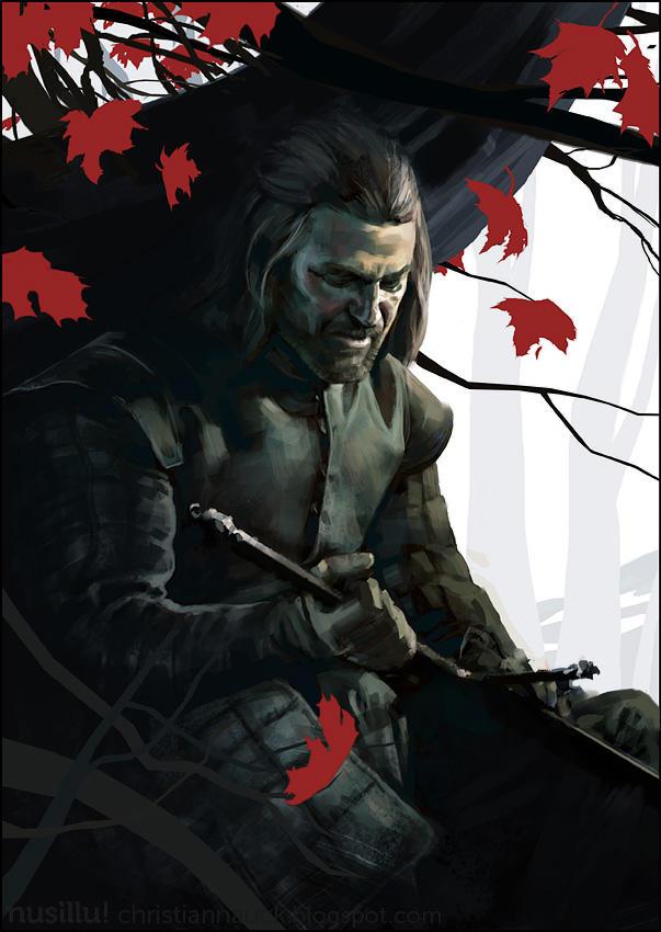 Game of Thrones -  Ned Stark by ChristianNauck