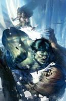 Incredible Hulk #11 by ChristianNauck