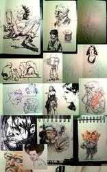 Sketchdump by ChristianNauck