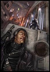 Shadowrun Cover by ChristianNauck