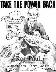Ron Paul poster flyer by The-Russian