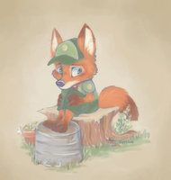 Scout Time Out by tippytail
