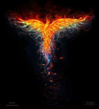 Phoenix by amorphisss