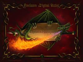 Freelance digital artist by amorphisss