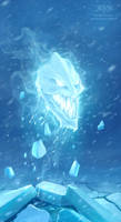 Evil Ice Element by amorphisss