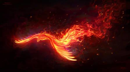 Phoenix II by amorphisss