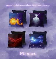 Pillows by amorphisss