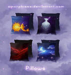 Pillows by amorphisss