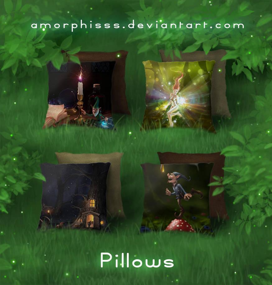 Pillows 2 by amorphisss