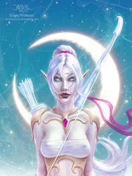 Elven Princess by amorphisss