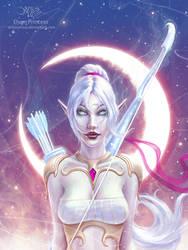 Elven Princess Alt.Ver. by amorphisss