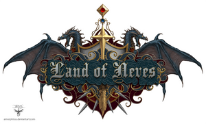 Land of Neves web Logo by amorphisss