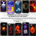 Phone-tablet cases by amorphisss