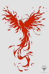 Phoenix Rage Logo by amorphisss