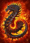 Fire Dragon by amorphisss