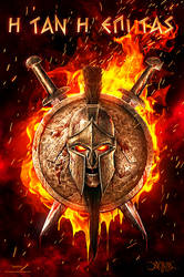 Spartan fire ver. by amorphisss