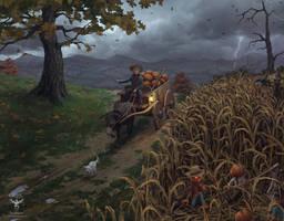 The Ambush by amorphisss