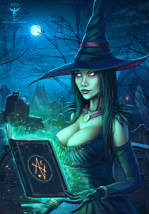 Witch by amorphisss