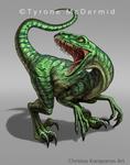 Raptor logo by amorphisss
