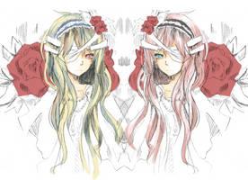 Twin Flowers by silverxrain