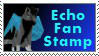 Echo Fan Stamp by Echowolf97