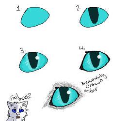 How I Draw Cat Eyes Tutorial By Glacierpaws On Deviantart