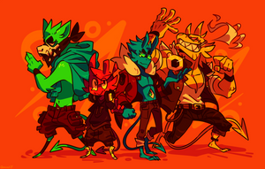 Demon Crew V2 by Ionic-Isaac