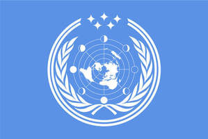 United Nations future flag by SalesWorlds