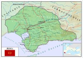 Baetica - Roman Province 29 BCE - 411CE by SalesWorlds