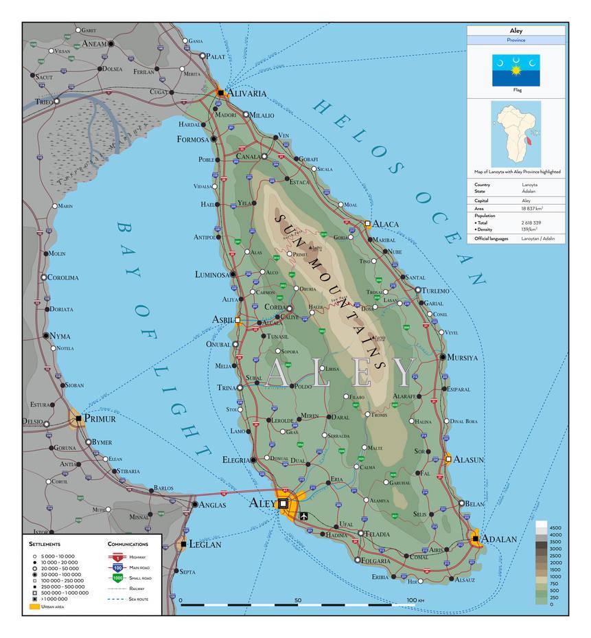 Aley Province - Lanoyta Atlas by SalesWorlds
