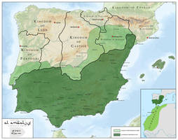 Al Andalus - Almoravid Empire 1085 - 1147 by SalesWorlds