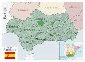 Andalusia 1833-1931 by SalesWorlds