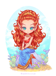 [+ Video] Leetah Chibi [Elfquest Fanart] by Nukababe