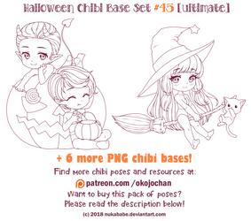 Halloween Bases (Ultimate Chibi Base Set #45) by Nukababe