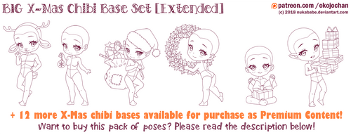 BIG X-Mas Chibi Base Pack (Extended) by Nukababe