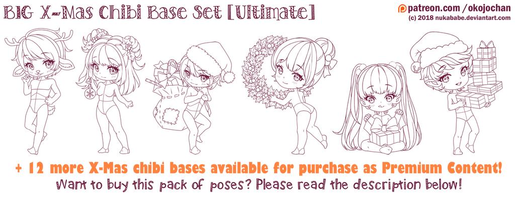 BIG X-Mas Chibi Base Pack (Ultimate) by Nukababe