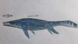 Early triassic macropredatory ichtyosaur: by paleosir