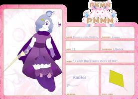 Pkmn Pmmm App - rosemary ada by leafpool12