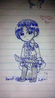 levi scribblee by kaenshi