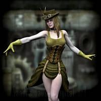 Steampunk Fashion by sandrabauser