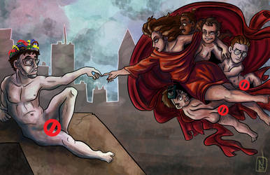 The Creation of Zuul by greensprout