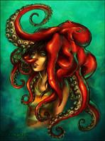 my hat is an octopus by StefTastan