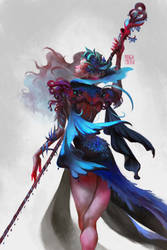 Queen Cobalt by StefTastan