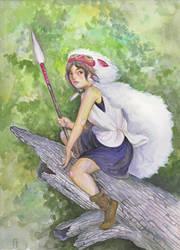 Mononoke hime by angeldevilland