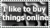 I Like To Shop Online Stamp by ChibiAngel86