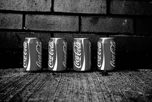 Cola-Cola cans by Madz69