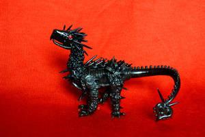 Spiked armor dragon by SandBasilisk