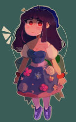Flower dress by Puijela10