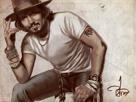 Johnny Depp by lemonfox2002
