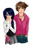 Fairly Odd Couple by lemonfox2002